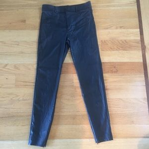Zara faux leather skinny jeans only wore once